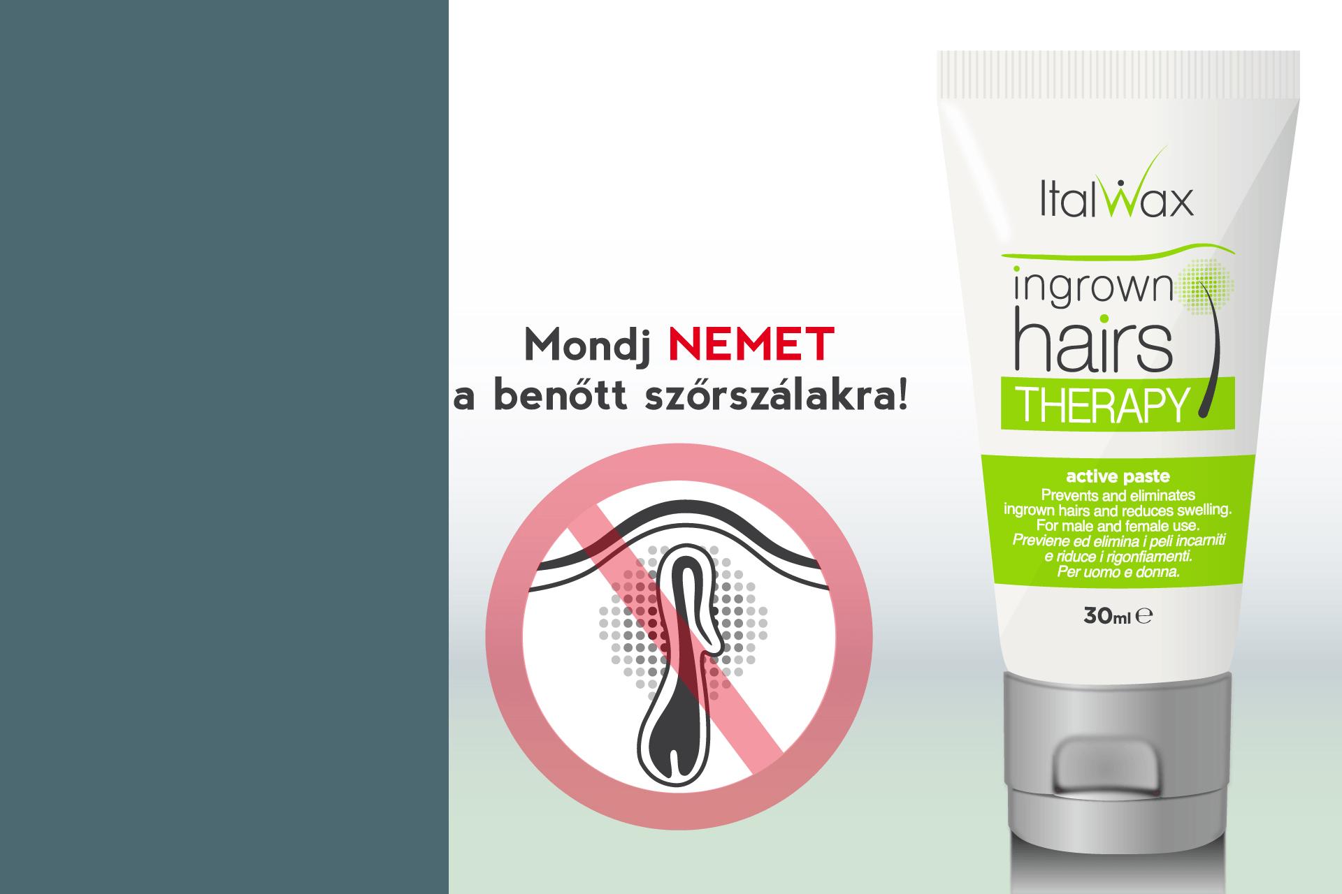 Benőtt szőrszál terápia